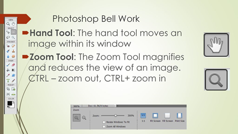 The ABC of Photography – Hand tool