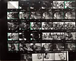 The ABC of Photography –  Contact print/sheet