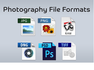 The ABC of Photography – Image file format